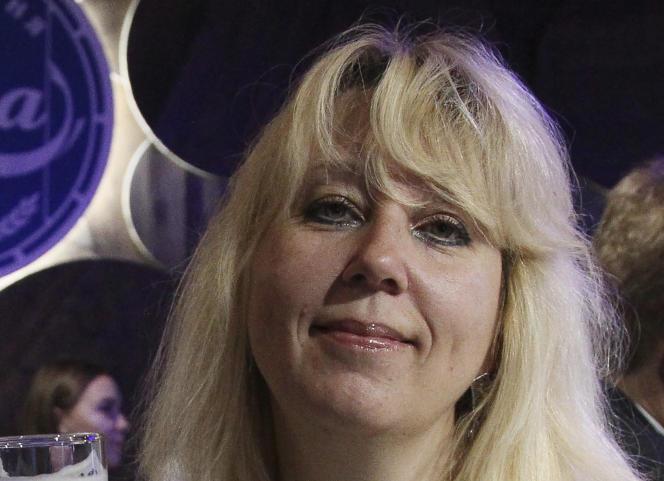 La journaliste Irina Slavina le 1er octobre 2019 à Nijni-Novgorod.
