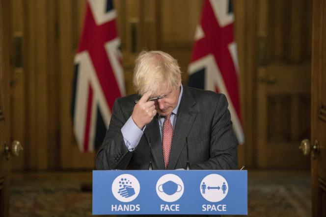 Le premier ministre britannique, Boris Johnson, le 30 septembre à Londres.