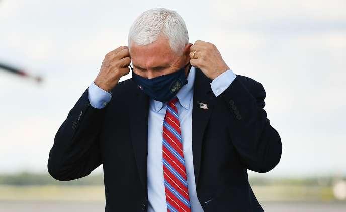 Vice-président Mike Pence, dans le Maryland le 5 octobre.
