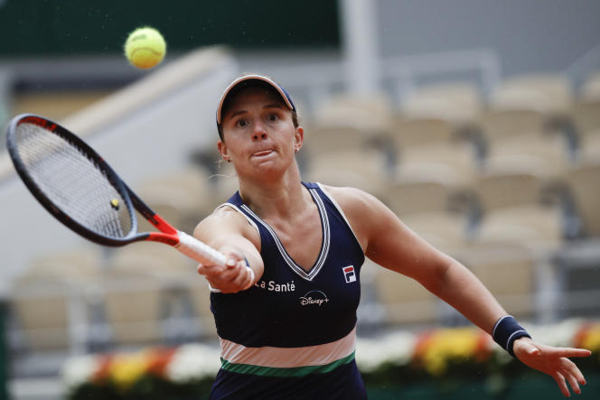 Nadia Podoroska n'avait encore jamais joué contre une joueuse du Top 20 mondial.
