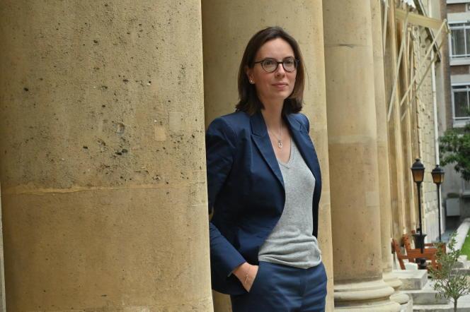 La ministre de la transformation et de la fonction publiques, Amélie de Montchalin, le 10 juillet.