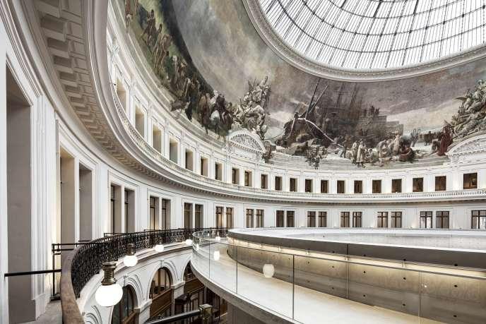 La Bourse du commerce à Paris ouvrira le 23 janvier 2021.