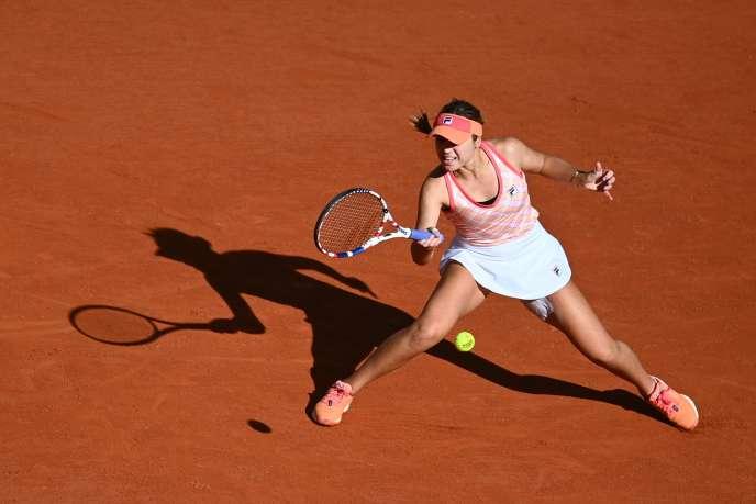 Sofia Kenin disputera sa première demi-finale à Roland Garros.