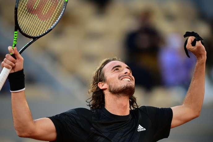 Stefanos Tsitsipas est en demi-finale de Roland-Garros.