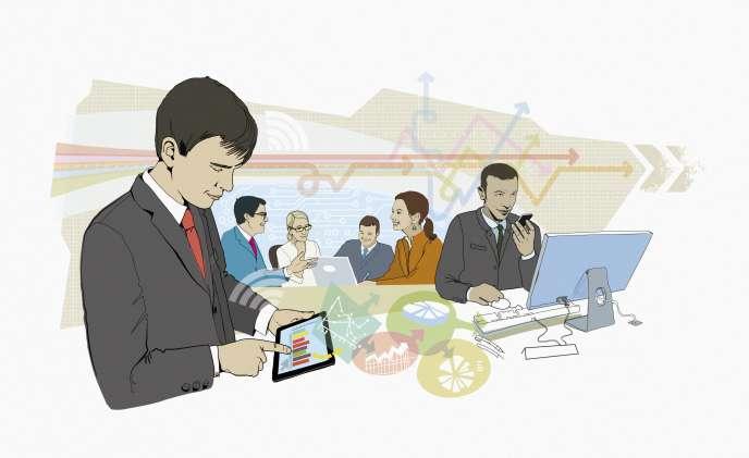 «Autre argument qui séduit les entreprises et les travailleurs indépendants : la flexibilité des espaces de coworking.»