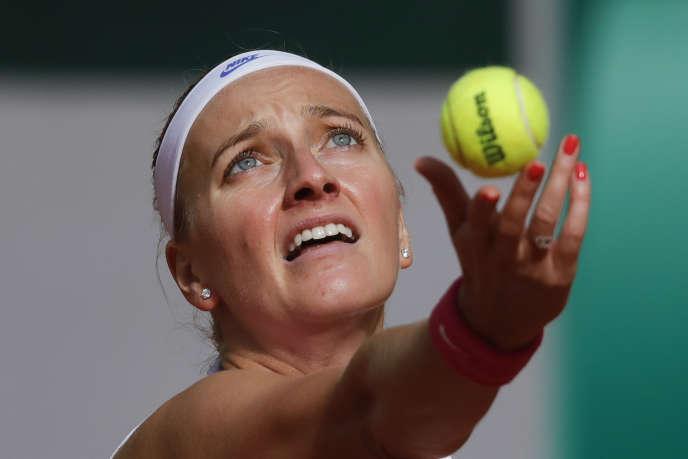 Petra Kvitova, mercredi 7 octobre, à Paris.