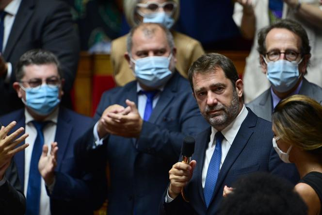 Le président du groupe LRM, Christophe Castaner, le 15 septembre à l'Assemblée nationale.