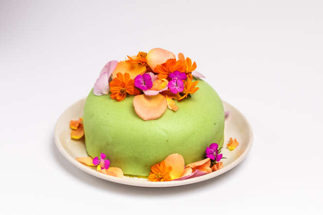 Le vert-vertde Claude Monet selon Mathilde Bignon.
