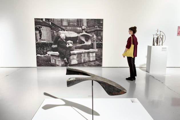 A l'intérieur duMusée d'art moderne et contemporain de Saint-Etienne Métropole