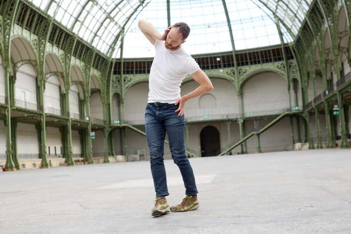 Boris Charmatz, en mai 2020, au Grand Palais, à Paris.