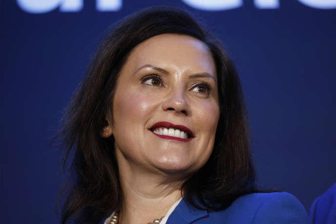 La gouverneure du Michigan, Gretchen Whitmer, le 27 janvier 2020.