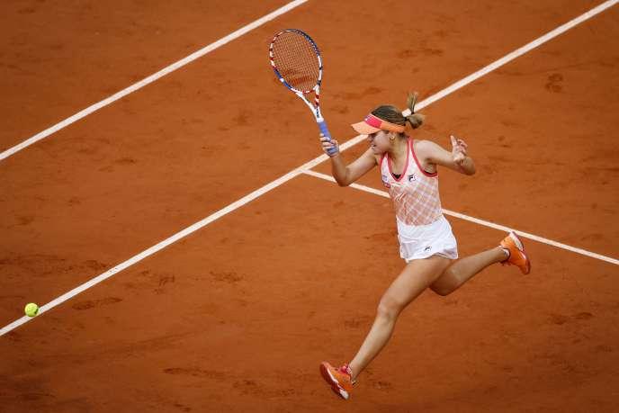 Déjà vainqueure de l'Open d'Australie en début d'année, Sofia Kenin peut remporter Roland-Garros, samedi.