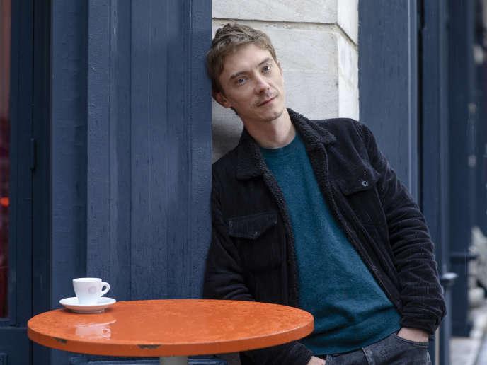 Swann Arlaud au café La Caravane, à Paris, le 2 octobre.