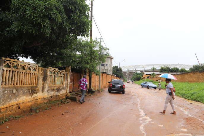 Dans le quartier de N'Gattakro, à Bouaké.