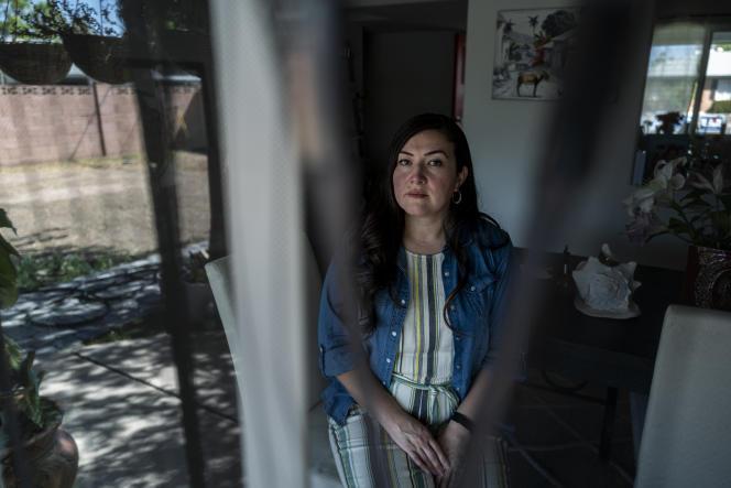 Alejandra Gomez, une des fondatrices du mouvement Lucha (Living United for Change in Arizona), le 1er octobre à Phoenix.