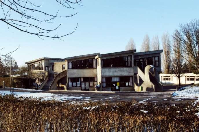 L'école de Guermantes (Seine-et-Marne), d'où est partie Estelle Mouzin avant sa disparition, le 9 janvier 2003.