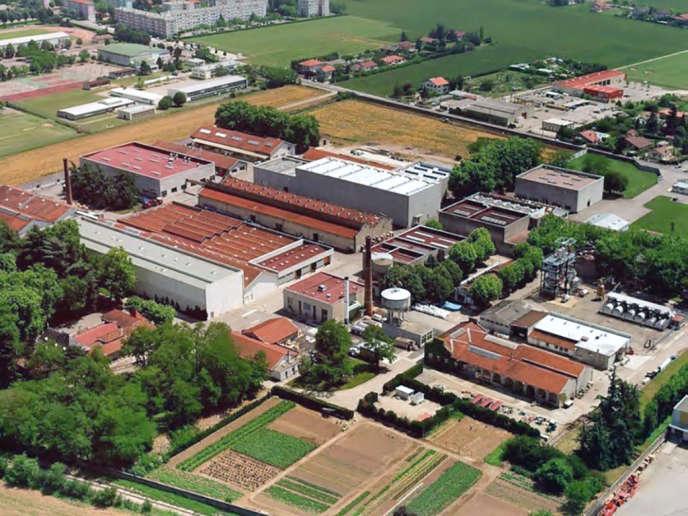 Le site des labotatoires Gifrer, à Décimes, près de Lyon.