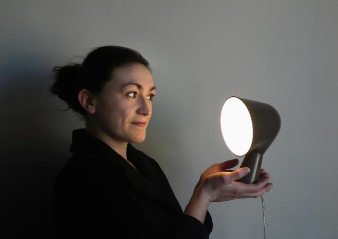 Ionna Vautrinavec son best-seller, la lampe Binic.