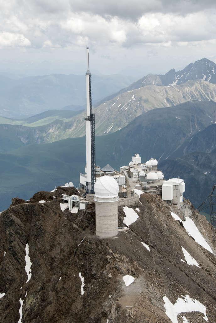 Au pic du Midi, le télescope Bernard-Lyot.