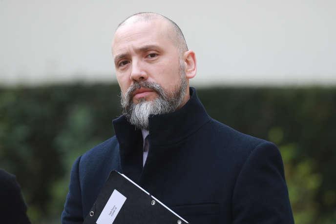 Christian Gravel, à Paris, le 17mars 2020.