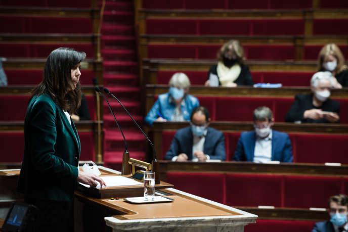 Discussion à l'Assemblée nationale de la proposition de loi visant à renforcer le droit à l'avortement, le 8 octobre 2020.