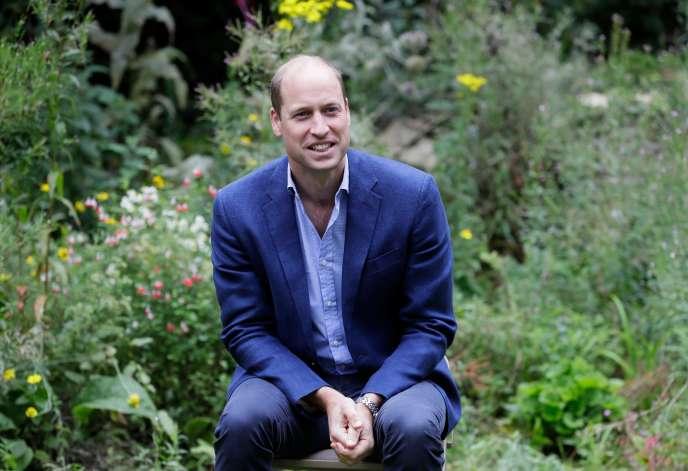 Le prince William, le 16 juillet, à Peterborough (Royaume-Uni).