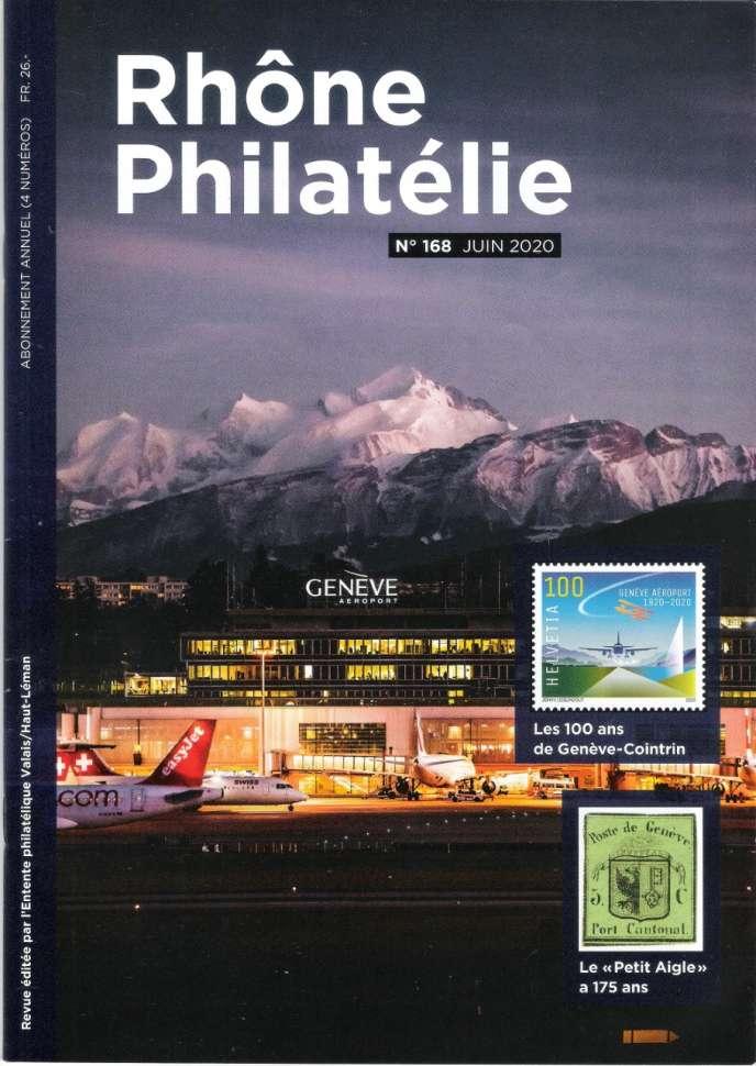 «Rhône philatélie», trimestriel édité par l'Entente philatélique Valais/Haut-Léman. Adresse: case postale 143, 1860 Aigle, Suisse. Courriel: rhonephilatelie@bluewin.ch.