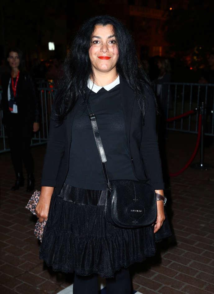 Marjane Satrapi, à la première de son film «The Voices», au Festival international du film deToronto (Canada), le 11 septembre 2014.