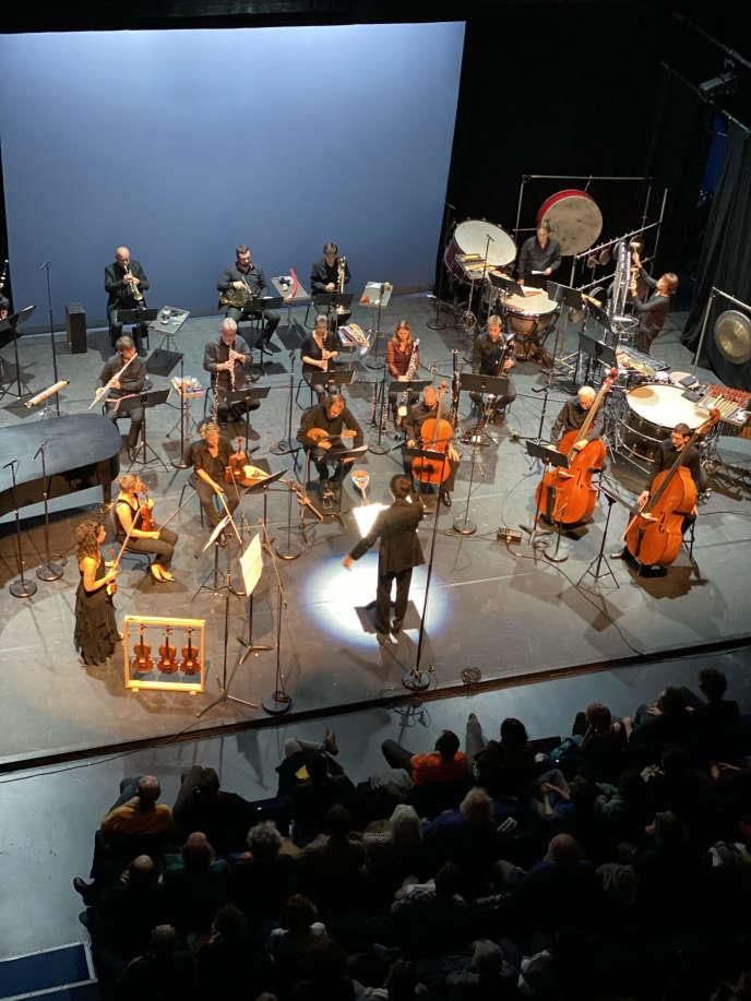 L'Ensemble 2e2m à la Scala Paris, le 10 octobre 2020.