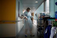 Au centre hospitalier de Vannes, le 12 octobre.