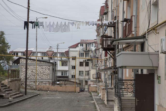 A Stepanakert, république du Haut-Karabakh, le 11 octobre 2020.