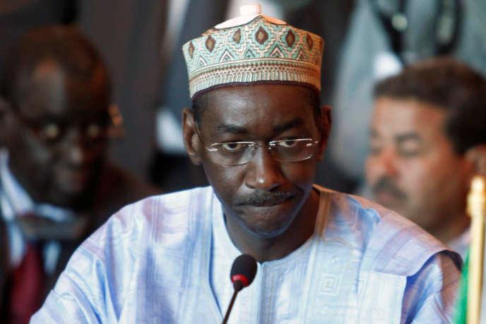 L'ex-ministre des affaires étrangères Moctar Ouane, ici à Alger en 2010, est devenu le premier ministre de transition du Mali.