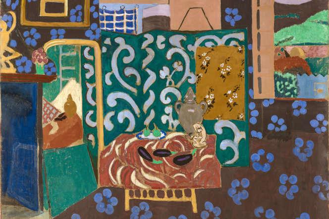 « Intérieur aux aubergines» (1911), Henri Matisse.