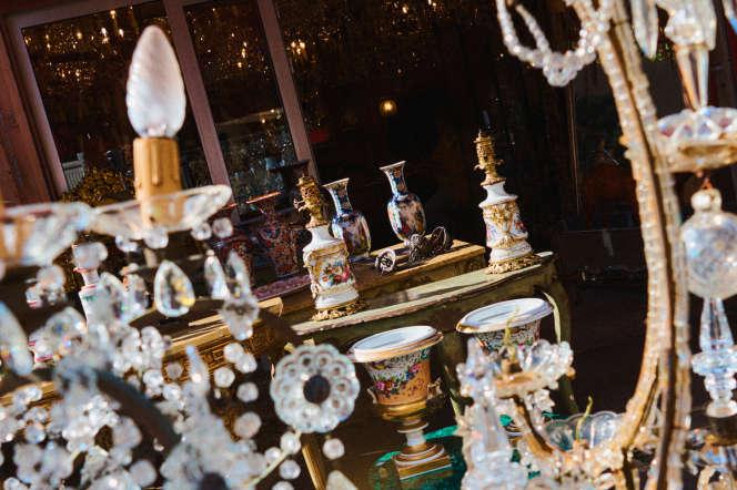 La devanture de La Boutique de Sophie à l'entrée du marché Paul-Bert.
