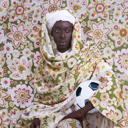 « Un homme marocain (1913)», d'Omar Victor Diop, 2014.