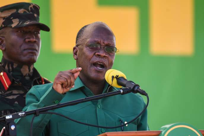 Le président tanzanien, John Magufuli, à Dodoma, le 29août 2020.