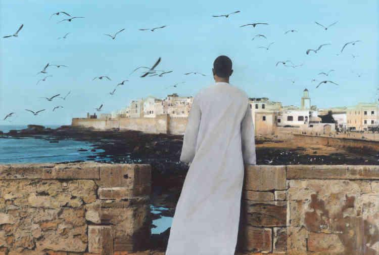 « Autoportrait, Essaouira», de Youssef Nabil, 2011.
