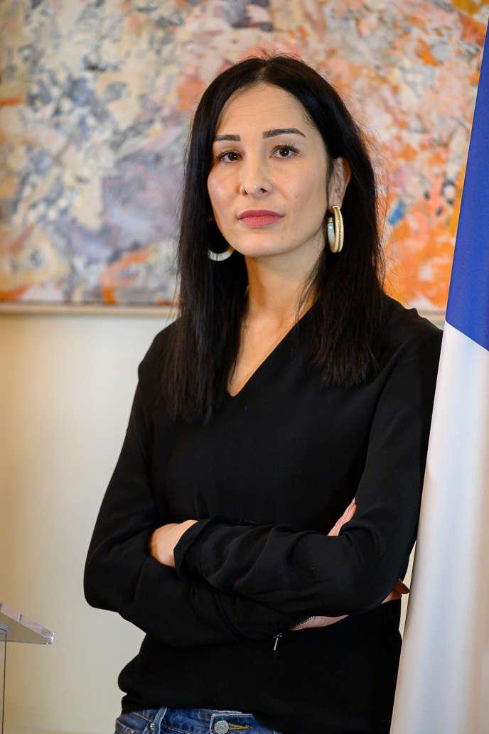 Avocate de formation, la députée Alexandra Louis avait déjà été rapporteuse de la loi Schiappa en2018.