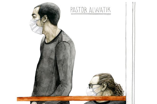 Nezar Pastor Alwatikle 12 septembre au tribunal de Paris.