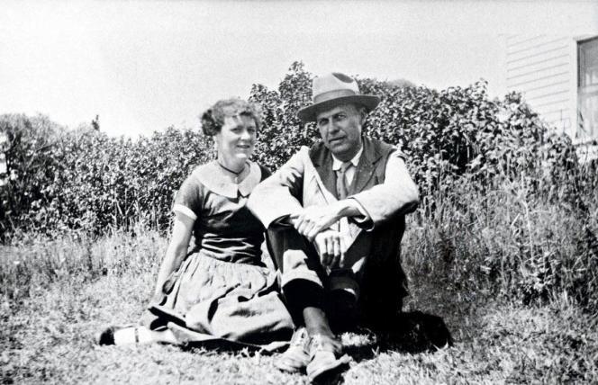 Jo et Edward Hopper en 1927.