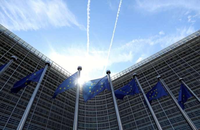 Le siège de la Commission européenne à Bruxelles, le 21 août 2020.