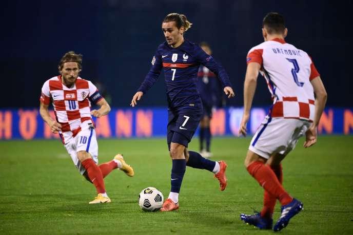 33e but en sélection d'Antoine Griezmann mercredi à Zagreb contre la Croatie.