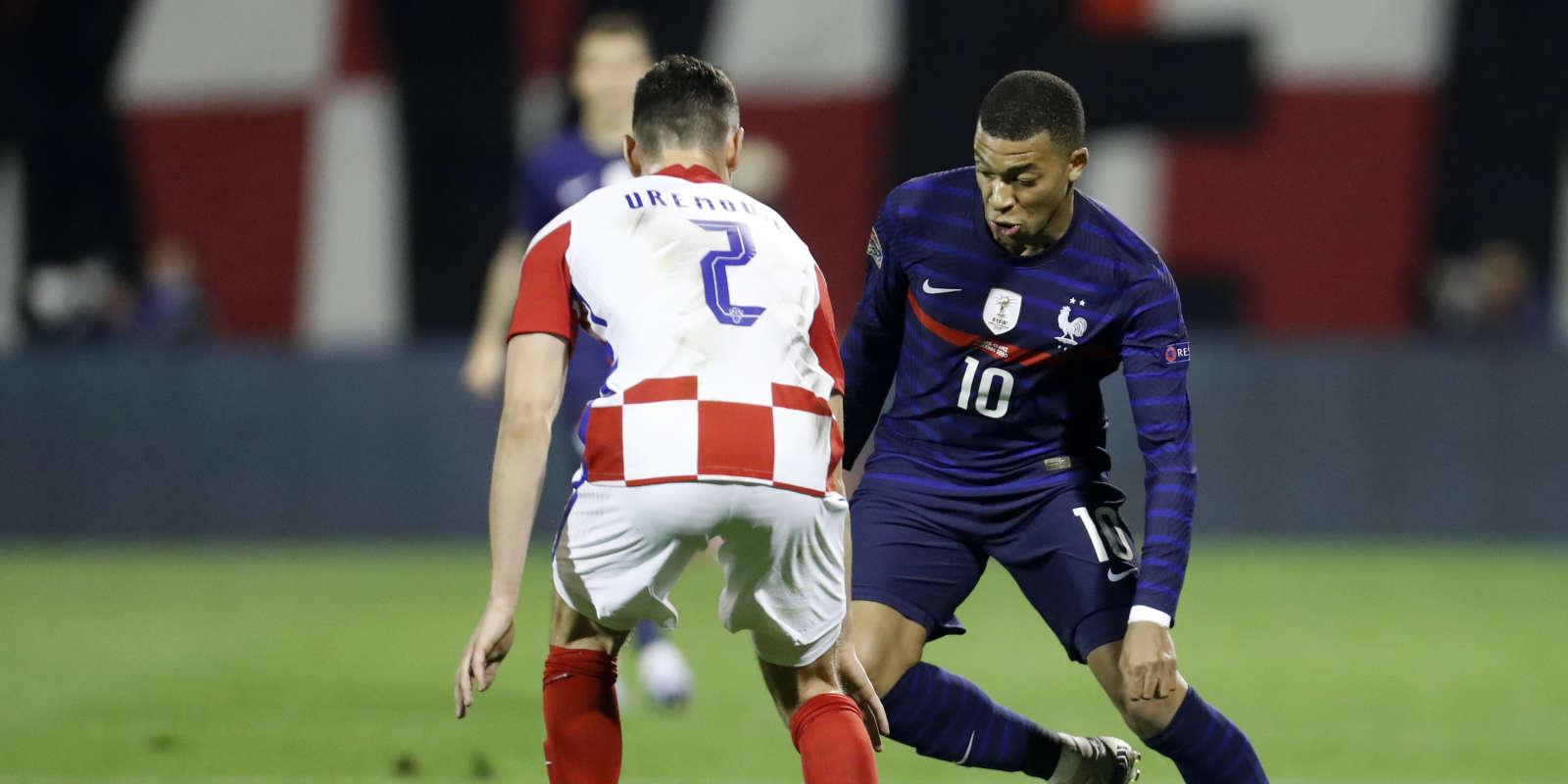Ligue Des Nations L Equipe De France S Impose En Croatie Grace A Griezmann Et Mbappe