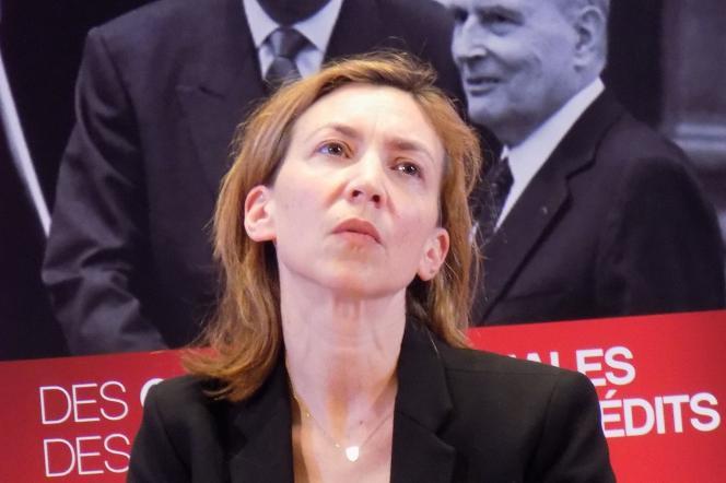 Maya Kandel, lors du forum «L'année vue par l'histoire», organisé par France Culture, le 25 mars 2017.