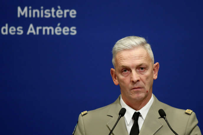 Le chef d'état major des armées,le général François Lecointre, lors d'une conférence de presse à Paris, en novembre 2019.
