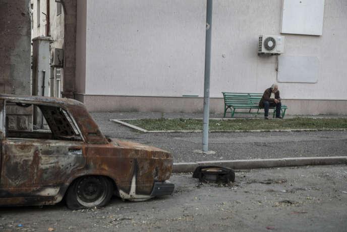 A Stepanakert (Haut-Karabakh), le 14 octobre.
