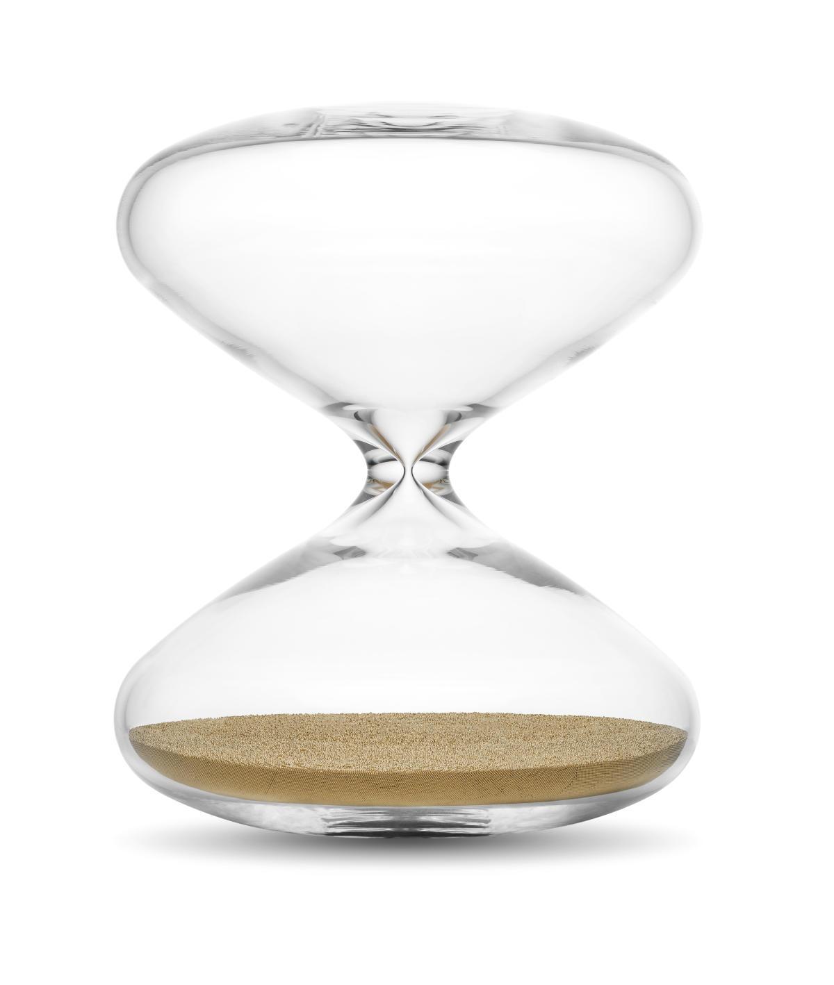 «The Hourglass » (2015), de Marc Newson.
