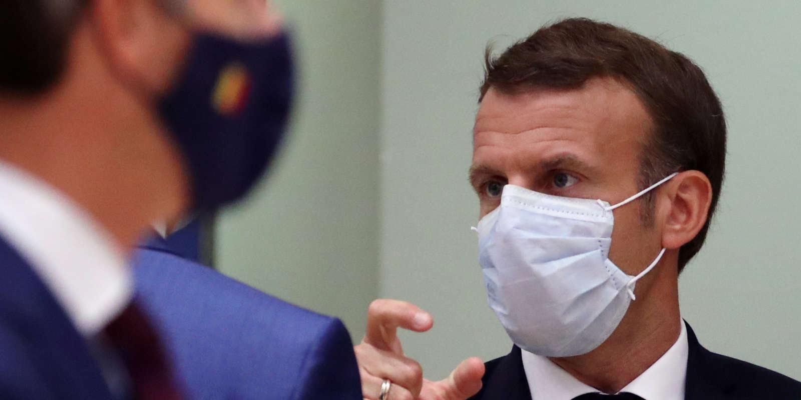 Emmanuel Macron, le 15 octobre 2020.