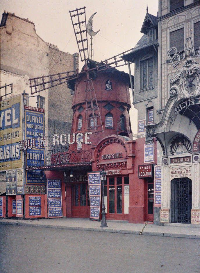 Le Moulin Rouge, de Stéphane Passet, juin-juillet 1914.