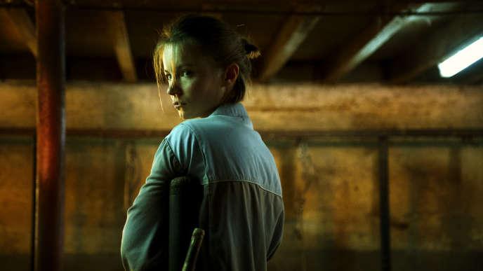 L'actrice Diane Rouxel dans «La Terre des hommes», de Naël Marandin, projeté à la Cinémathèque dans le cadre de la semaine de la critique.